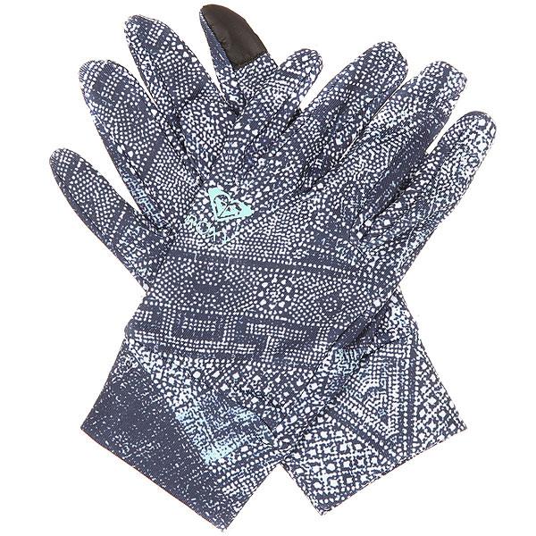 Перчатки сноубордические женские Roxy Liner Peacoat avoya<br><br>Цвет: синий,белый<br>Тип: Перчатки сноубордические<br>Возраст: Взрослый<br>Пол: Женский