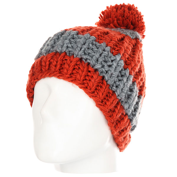 Шапка Quiksilver Shaw Beanie Ketchup Red red fox перчатки power stretch