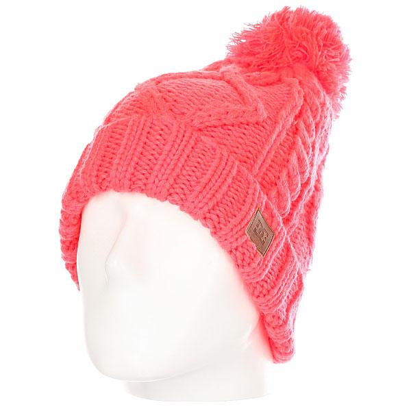 Шапка женская DC Tayce Fiery Coral<br><br>Цвет: розовый<br>Тип: Шапка<br>Возраст: Взрослый<br>Пол: Женский