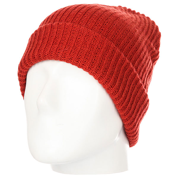 Шапка Quiksilver Routine Beanie Ketchup Red red fox перчатки power stretch