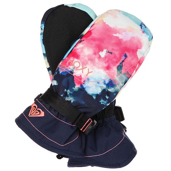 Варежки сноубордические женские Roxy Jetty Se Mitt Neon Grapefruit