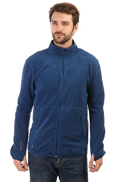 Толстовка сноубордическая Quiksilver Cosmo Fz Fleece Estate Blue<br><br>Цвет: синий<br>Тип: Толстовка сноубордическая<br>Возраст: Взрослый<br>Пол: Мужской