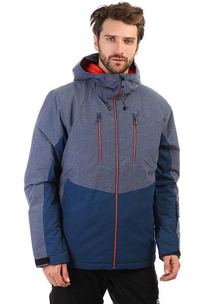 Куртка утепленная Quiksilver Mission Plus Estate Blue<br><br>Цвет: синий<br>Тип: Куртка утепленная<br>Возраст: Взрослый<br>Пол: Мужской