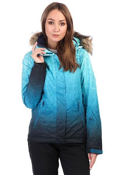 Куртка утепленная женская Roxy Jet Ski Se Ink Blue_solargradieСпециальный выпуск куртки Roxy Jet Ski в этом сезоне состоит из премиум-расцветок, которых нет в основной версии. Так что если Вы не хотите постоянно видеть на склоне своих клонов, выбирайте SE, и вероятность этого сразу же станет значительно меньше.Короткая и стильная, яркая и теплая - это Roxy Jet Ski, в которой Вам будет удобно как на склоне, так и на улицах города. Зауженный крой не стесняет движений и при этом отлично смотрится, мембранная ткань быстро отводит лишнюю влагу, и не пускает ее снаружи, легкий современный утеплитель Warmflight® не позволит холоду застать Вас врасплох, а юбка для защиты от снега и объемный отстегивающийся капюшон с меховой оторочкой (а также масса других дополнительных опций) сделают Вашу жизнь зимой еще позитивнее.Характеристики:Зауженный крой Slim. Мембрана: водостойкая 10K ROXY DryFlight®.Материал: саржа из полиэстера. Подкладка из тафты и со вставками из трикотажа с начесом. Утеплитель: наполнитель Warmflight® (тело — 120 г, рукава — 100 г, капюшон — 60 г). Мягкая защита подбородка. Объемный отсегивающийся капюшон с тремя вариантами регулировки и съемной оторочкой из искусственного меха. Проклеенные в критических местах швы. Юбка для защиты от снега.Карабин для ключей. Система пристегивания штанов к куртке. Застегивается на молнию по всей длине. Два кармана для рук с доступом на молнии. Внутренний медиа-карман. Сетчатый карман для маски. Карман на рукаве для ски-паса. Регулируемые манжеты. Вентиляция подмышками. Гейтеры из лайкры + небольшая удобная вставка в манжете.<br><br>Цвет: голубой<br>Тип: Куртка утепленная<br>Возраст: Взрослый<br>Пол: Женский