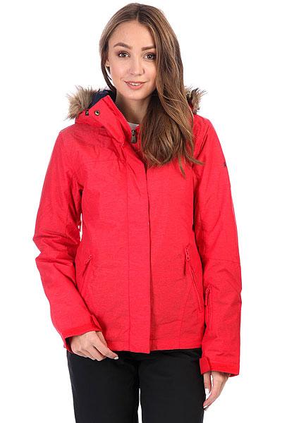 Куртка утепленная женская Roxy Jet Ski Sol LollipopКороткая и стильная, яркая и теплая - это Roxy Jet Ski, в которой Вам будет удобно как на склоне, так и на улицах города. Зауженный крой не стесняет движений и при этом отлично смотрится, мембранная ткань быстро отводит лишнюю влагу, и не пускает ее снаружи, легкий современный утеплитель Warmflight® не позволит холоду застать Вас врасплох, а юбка для защиты от снега и объемный отстегивающийся капюшон с меховой оторочкой (а также масса других дополнительных опций) сделают Вашу жизнь зимой еще позитивнее.Характеристики:Зауженный крой Slim. Мембрана: водостойкая 10K ROXY DryFlight. Материал: саржа из полиэстера. Подкладка из тафты и со вставками из трикотажа с начесом. Утеплитель: наполнитель Warmflight® (тело — 120 г, рукава — 100 г, капюшон — 60 г). Мягкая защита подбородка. Объемный отсегивающийся капюшон с тремя вариантами регулировки и съемной оторочкой из искусственного меха. Проклеенные в критических местах швы. Юбка для защиты от снега.Карабин для ключей. Система пристегивания штанов к куртке. Застегивается на молнию по всей длине. Два кармана для рук с доступом на молнии. Внутренний медиа-карман. Сетчатый карман для маски. Карман на рукаве для ски-паса. Регулируемые манжеты. Вентиляция подмышками. Гейтеры из лайкры + небольшая удобная вставка в манжете.<br><br>Цвет: красный<br>Тип: Куртка утепленная<br>Возраст: Взрослый<br>Пол: Женский