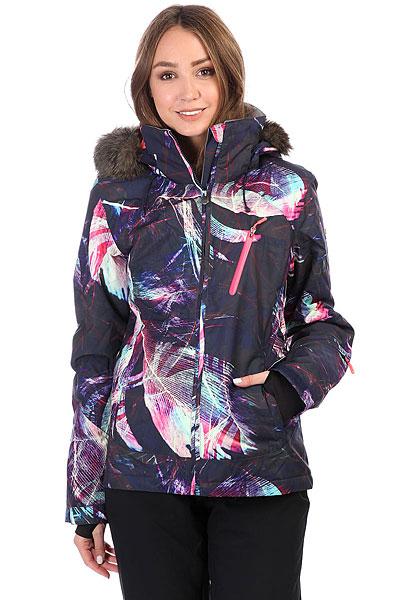 где купить Куртка утепленная женская Roxy Jet Ski Prem Peacoat_seamless Fea по лучшей цене