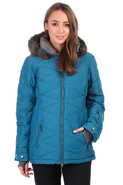Куртка утепленная женская Roxy Quinn InkУдобная и теплая куртка - залог Вашего хорошего настроения на склоне, когда погода совсем испортилась. Хороший утеплитель, правильный крой, обилие карманов, объемный капюшон и вентиляция - все это создает уютную и комфортную оболочку, сквозь которую не проберется снег и ветер, а это значит, что Вы сможете продолжить катание, не испытывая никаких проблем. Эта Roxy Quinn отвечает всем самым строгим требованиям, имея в запасе как все вышеперечисленное, так и массу дополнительных опций: хорошие молнии, систему пристегивания к штанам, вентиляцию, защиту подбородка и утеплитель PrimaLoft® Gold. Вам было не очень комфортно зимой? Что ж, с Roxy Quinn об этом точно можно будет забыть!Характеристики:Приталенный крой. Мембрана: водостойкая 10K ROXY DryFlight®.Материал: сочетание нейлона и полиэстера простого плетения.Подкладка из сверхлегкой тафты из переработанного полиэстера + воротник из тафты с принтом и трикотажа с начесом. Утеплитель: PrimaLoft® Gold Insulation Luxe (350 г).Мягкая защита подбородка. Отстегивающийся объемный капюшон со съемной оторочкой из искусственного меха. Воротник из косметотекстиля ENJOY &amp; CARE Съемная юбка для защиты от снега. Карабин для ключей. Система пристегивания штанов к куртке.Застегивается на молнию YKK® Metaluxe® по всей длине. Два кармана для рук с доступом на молнии. Внутренний медиа-карман. Сетчатый карман для маски. Карман на рукаве для ски-паса. Вентиляция подмышками. Гейтеры из лайкры с отверстиями для больших пальцев.<br><br>Цвет: синий<br>Тип: Куртка утепленная<br>Возраст: Взрослый<br>Пол: Женский