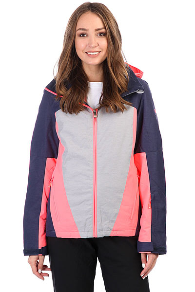 Куртка утепленная женская Roxy Sassy Heritage HeatherЛегкая куртка облегающего спортивного кроя, снабженная отличной мембраной10K ROXY DryFlight® и утеплителемWarmflight® создана, чтобы защитить райдера от холода и снежного ветра, но сохранить при этом женственность стиля, подчеркивая фигуру. Куртка Sassy снабжена удобной системой карманов: для ски-пасса, внутренним аудио-карманом и сетчатым карманом для маски, что позволит взять все необходимые мелочи на склон и держать все под рукой. Важным дополнением являются эластичные манжеты из лайкры и снегозащитная юбка, всегда готовые остановить снег и не пустить его под одежду во время неудачного падения.Характеристики:Slim fit: облегающий спортивный крой, подчеркивающий силуэт. Мембранная влагостойкая дышащая ткань10K ROXY DryFlight®.Утеплитель:Warmflight® (120г туловище, 100г рукава, 60г капюшон). Подкладка из тафты с трикотажными ворсистыми вставками. Швы проклеены в стратегических местах.Регулируемый в трех направлениях капюшон. Съемный капюшон.Фиксированнаяснегозащитная юбка. Система крепления куртки к штанам.Защита подбородка. Вертикальный нагрудный карман. Внутренний медиа-карман на молнии. Внутренний сетчатый карман для маски. Два кармана для рук на молнии. Карабин для ключа. Утягивающийся подол. Карман для ски-пасса на рукаве на молнии. Внутренние эластичные манжеты из лайкры с отверстием для большого пальца.Регулируемые на липучке манжеты. Вентиляционные сетчатые отверстия на молнии подмышками.<br><br>Цвет: синий,серый,розовый<br>Тип: Куртка утепленная<br>Возраст: Взрослый<br>Пол: Женский