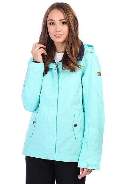 куртка женская roxy billie цвет бирюзовый erjtj03121 bfk0 размер s 42 Куртка утепленная женская Roxy Billie Aruba Blue