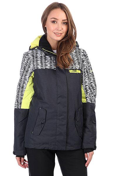 Куртка утепленная женская Roxy Rx Jetty Blo True Black_savannaСноубордическая куртка Jetty из новой коллекции ROXY.Технические характеристики: Водостойкая мембрана 10K ROXY DryFlight®.Саржа из полиэстера.Классический крой.Утеплитель Warmflight® (тело — 120 г, рукава — 100 г, капюшон — 60 г).Подкладка из тафты со вставками из трикотажа с начесом.Мягкая защита подбородка.Карабин для ключей.Все основные швы проклеены.Капюшон с тремя регулировками.Фиксированная снежная юбка из тафты.Крепление куртки к брюкам.Нагрудный карман, карманы для рук, карман для скипасса, медиа карман и карман для маски.Вентиляционные молнии с подкладкой из сетки.Внутренние манжеты из лайкры.Внешние манжеты на липучках.Застежка на молнию с ветрозащитным клапаном на липучках.<br><br>Цвет: черный,желтый,белый<br>Тип: Куртка утепленная<br>Возраст: Взрослый<br>Пол: Женский