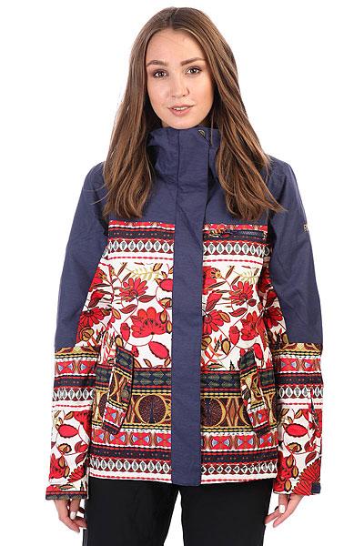 Куртка утепленная женская Roxy Tb Rx Jetty Blo Rooibos Tea_botanicСноубордическая куртка Torah Bright Jetty из новой коллекции ROXY.Технические характеристики: Водостойкая мембрана 10K ROXY DryFlight®.Саржа из полиэстера.Классический крой.Утеплитель Warmflight® (тело — 120 г, рукава — 100 г, капюшон — 60 г).Подкладка из тафты со вставками из трикотажа с начесом.Мягкая защита подбородка.Карабин для ключей.Все основные швы проклеены.Капюшон с тремя регулировками.Фиксированная снежная юбка из тафты.Крепление куртки к брюкам.Нагрудный карман, карманы для рук, карман для скипасса, медиа карман и карман для маски.Вентиляционные молнии с подкладкой из сетки.Внутренние манжеты из лайкры.Внешние манжеты на липучках.Застежка на молнию с ветрозащитным клапаном на липучках.<br><br>Цвет: серый,мультиколор<br>Тип: Куртка утепленная<br>Возраст: Взрослый<br>Пол: Женский