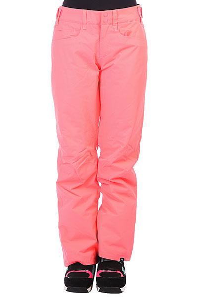 Купить со скидкой Штаны сноубордические женские Roxy Backyard Neon Grapefruit