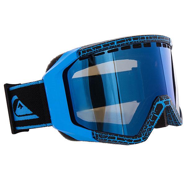 Маска для сноуборда Quiksilver Q1 Blue<br><br>Цвет: синий,черный<br>Тип: Маска для сноуборда<br>Возраст: Взрослый<br>Пол: Мужской