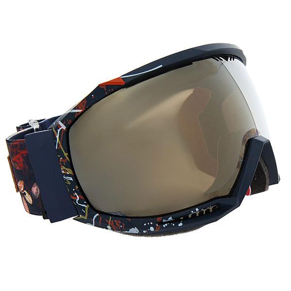 Маска для сноуборда женская Roxy Hubble Peacoat waterleafОбновленный дизайн маски – сферическая линза с супершироким углом обзора и очень легкой системой смены линз! Характеристики:Периферийный обзор 160°.Антифоговая обработка (не дает запотевать изнутри). Линза не искажает обзор и устойчива к образованию царапин. Мультибазовая линза из поликарбоната.Оправа:полиуретановая со встроенной вентиляцией. Оптимальный воздухообмен за счет фронтальной вентиляции линзы. Облегченный (узкий) профиль — на 50% менее объемный. Термоформованная подкладка из пенного материала двойной плотности и флиса.Новая эргономичная вращающаяся боковая клипса для крепления поверх шлема.Стопроцентная защита от УФ излучения. В комплект входит специальный силиконовый футляр для защиты маски во время хранения.<br><br>Цвет: синий,мультиколор<br>Тип: Маска для сноуборда<br>Возраст: Взрослый<br>Пол: Женский
