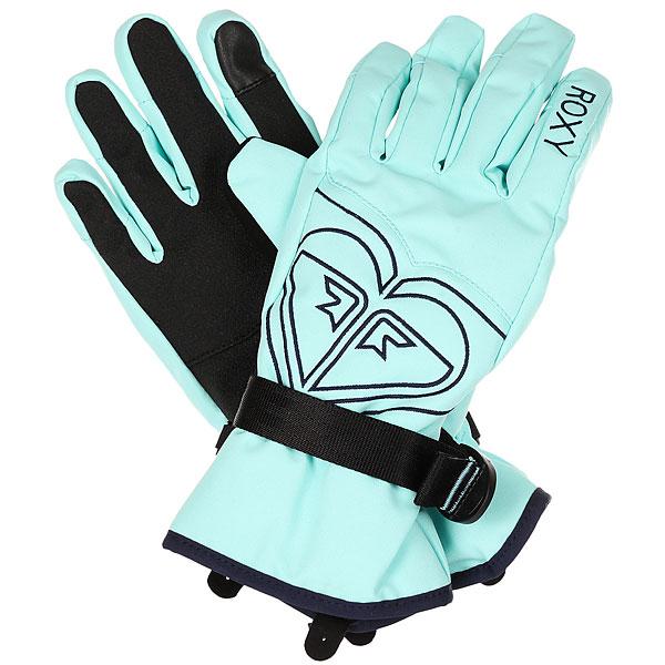 Перчатки женский Roxy Poppy Gloves Aruba Blue