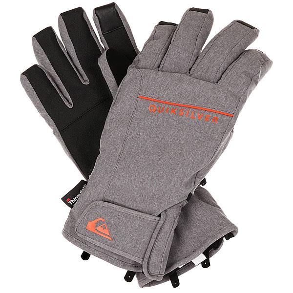 Купить со скидкой Перчатки Quiksilver Freefall Glove Grey Heather