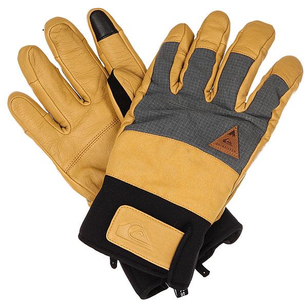 Купить со скидкой Перчатки Quiksilver Squad Glove Mustard Gold