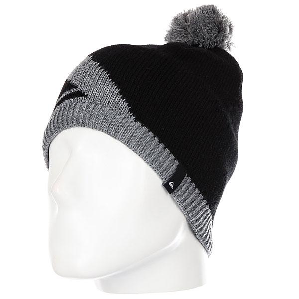 Шапка Quiksilver Barrow Beanie Black шапка носок детская quiksilver preference black