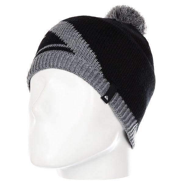 Шапка детская Quiksilver Bar You Bean Black шапка носок детская quiksilver preference black