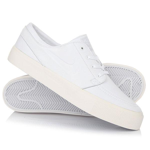 Кеды кроссовки низкие Nike Zoom Stefan Janoski Elite HT White кроссовки nike tony zoom stefan janoski prem sb 375361 901