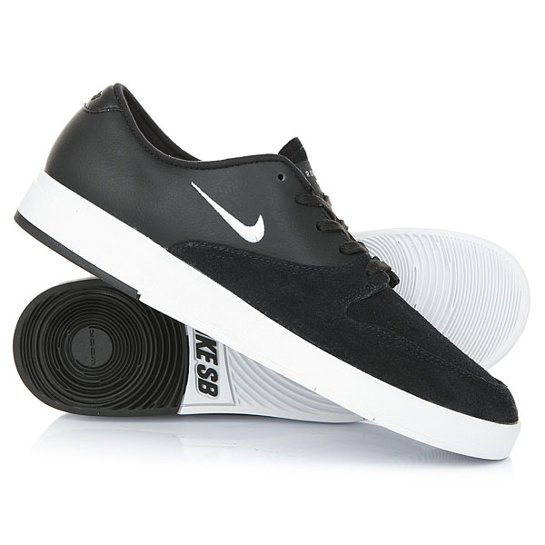 Кеды кроссовки низкие Nike SB Zoom P-Rod X Black/White кеды кроссовки высокие nike sb zoom dunk high pro black