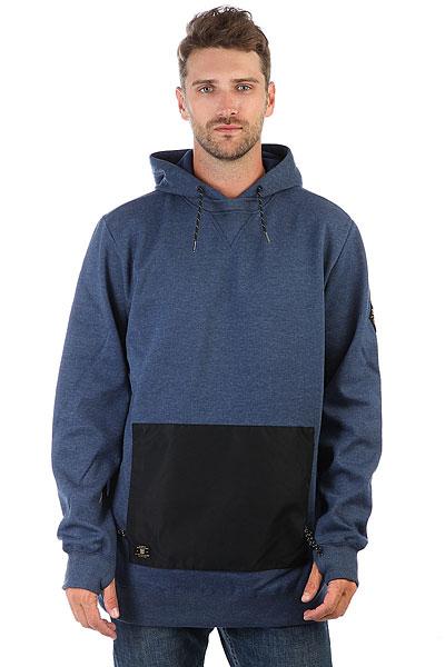 Толстовка сноубордическая DC Cloak Insignia Blue<br><br>Цвет: синий<br>Тип: Толстовка сноубордическая<br>Возраст: Взрослый<br>Пол: Мужской