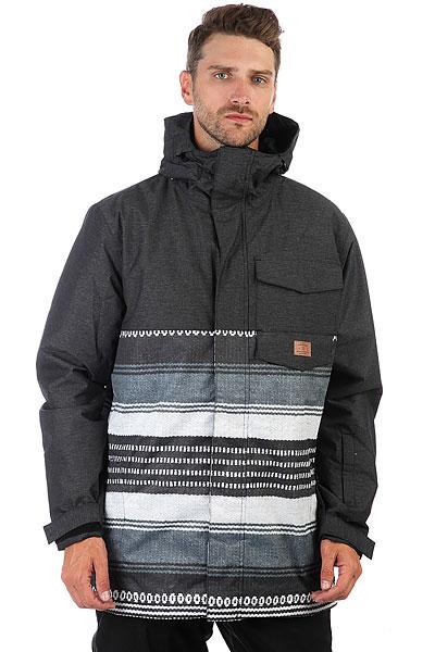 Куртка утепленная DC Merchant Poncho Stripe Gs куртка cwg canada weather gear куртка