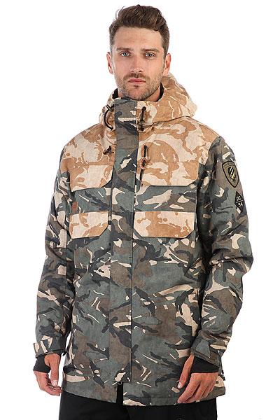 Куртка утепленная DC Haven British Woodland Cam куртки dc shoes куртка