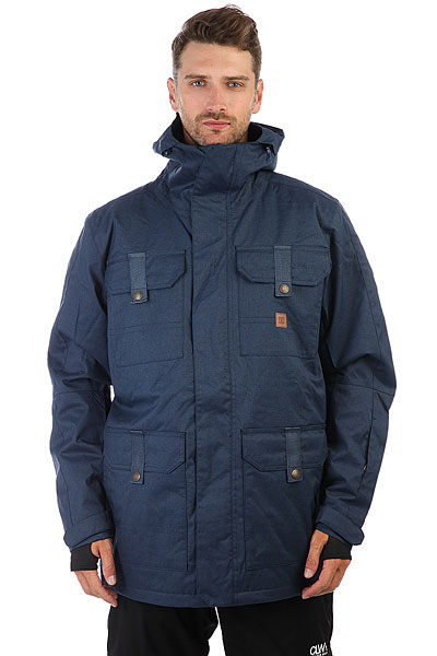 Куртка утепленная DC Servo Insignia Blue куртки dc shoes куртка
