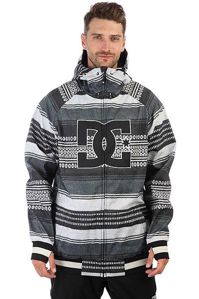 Куртка утепленная DC Spectrum Poncho Stripe Gs куртка cwg canada weather gear куртка