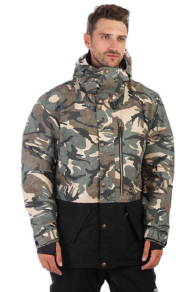 Куртка утепленная DC Outlier British Woodland Cam куртка cwg canada weather gear куртка