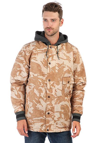 Куртка утепленная DC Flux British Desert Camo куртки dc shoes куртка