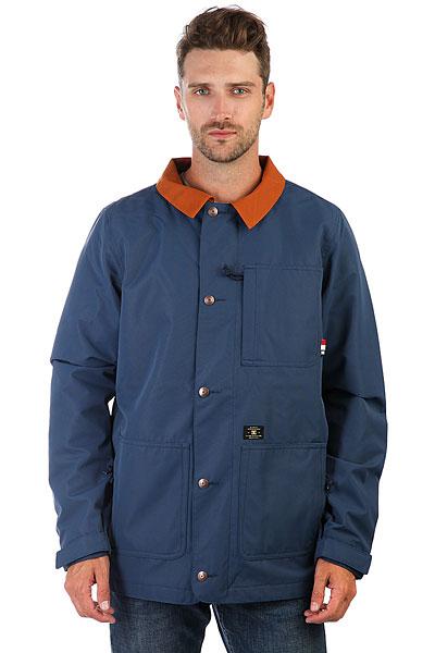 Куртка DC Operative Insignia Blue<br><br>Цвет: синий<br>Тип: Куртка<br>Возраст: Взрослый<br>Пол: Мужской