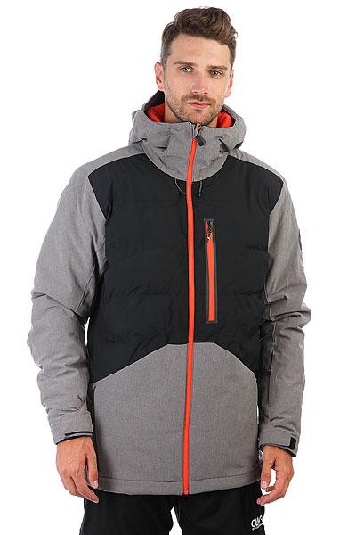 Куртка утепленная Quiksilver High West Black куртки reebok куртка rcf primaloft jacke coal