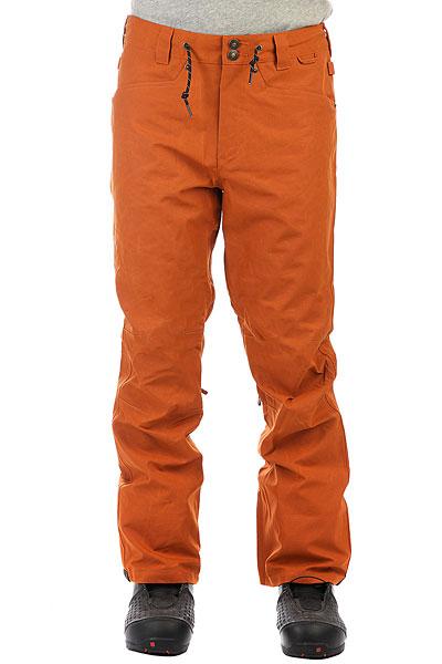 Штаны сноубордические DC Relay Waxed Leather BrownСноубордические штаны Relay из новой коллекции DC.Технические характеристики: Водостойкая мембрана 15K DC WEATHER DEFENSE.Синтетический оксфорд.Приталенный крой.Подкладка из тафты со вставками из трикотажа с начесом.Уплотненные колени.Полностью проклеенные швы.Регулировка талии.Утепленные карманы для рук.Вентиляционные молнии.Гетры с водоотталкивающей обработкой DWR и эластичной вставкой.Манжеты на молнии.<br><br>Цвет: коричневый<br>Тип: Штаны сноубордические<br>Возраст: Взрослый<br>Пол: Мужской