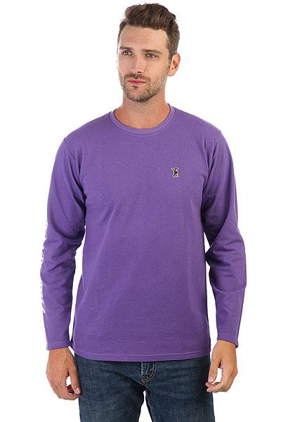 Лонгслив Anteater Long045 Purple<br><br>Цвет: фиолетовый<br>Тип: Лонгслив<br>Возраст: Взрослый<br>Пол: Мужской