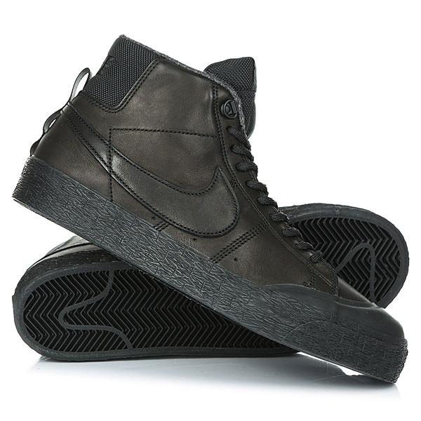 Ботинки высокие Nike SB Blazer Zoom M Xt Bota Black nike sb кеды nike sb zoom stefan janoski leather черный антрацитовый черный 12