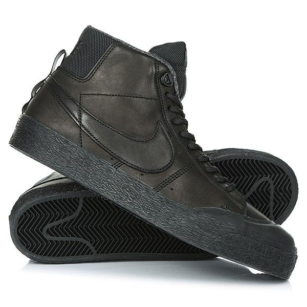 Ботинки высокие Nike SB Blazer Zoom M Xt Bota Black кеды кроссовки высокие nike sb zoom dunk high pro black