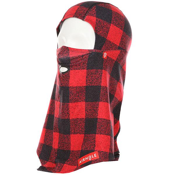 Баклава Airhole Balaclava Hinge Drytech Red/Black куртка зимняя quiksilver arris black