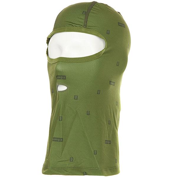 Баклава Airhole Balaclava Drylite Green puma куртка puma 50528402 jasmine green