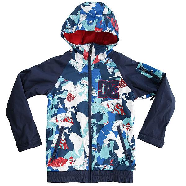 Куртка утепленная детская DC Shoes Troop Youth Shred Land куртки dc shoes куртка