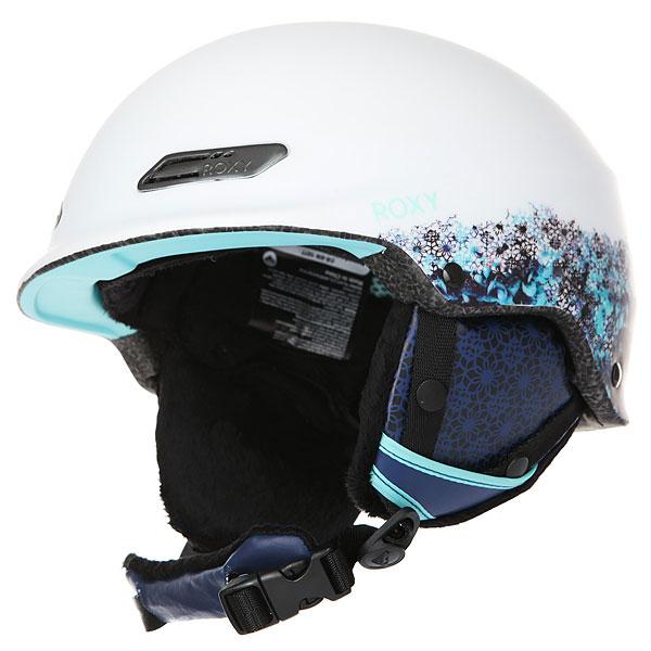 Шлем для сноуборда женский Roxy Power Powder Aruba Blue kaleidos roxy шлем для сноуборда power powder magenta purple 60