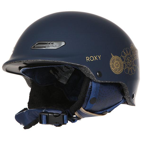 Шлем для сноуборда женский Roxy Power Powder Peacoat hackney Empi roxy шлем для сноуборда power powder magenta purple 60
