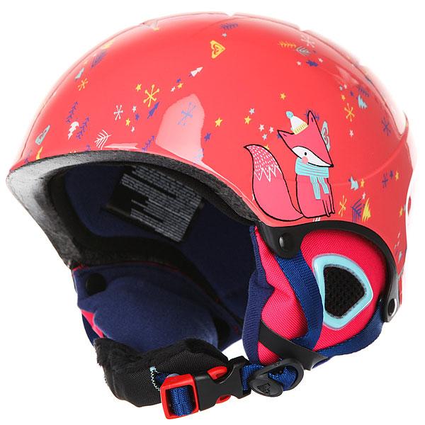 Шлем для сноуборда детский Roxy Misty Neon Grapefruit foxe misty мебель для ванной misty елена 60 розовая
