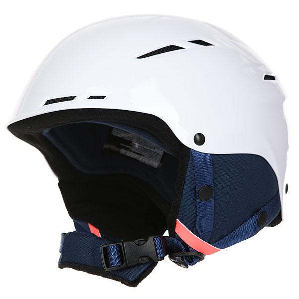 Шлем для сноуборда женский Roxy Alley Oop Bright WhiteОдин из самых простых в коллекции Roxy, шлем Alley Oop, тем не менее, отлично справляется со своими функциями. Надежная конструкция из пластика ABS с пассивной вентиляцией не даст Вам замерзнуть и защитит в случаях, когда что-то пошло не так. Мягкие накладки на уши, система регулировки размера, удобный подбородочный ремень и привлекательный внешний вид - несмотря на простоту, он отвечает всем предъявляемым требованиям. Характеристики:Основной материал: пластик ABS (прочный и легкий полимер с отличными амортизирующими свойствами). Пассивная вентиляция. Мягкая флисовая подкладка. Мягкие термоформованные съемные накладки на уши. Система регулировки размера. Стреп на подбородок выполнен из мягкого флиса. Спецификация: EN1077. Вес: 495 г.<br><br>Цвет: белый<br>Тип: Шлем для сноуборда<br>Возраст: Взрослый<br>Пол: Женский