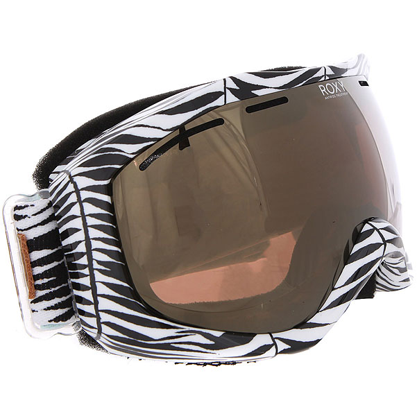 купить Маска для сноуборда женская Roxy Sunset Art Series True Black_savanna по цене 5500 рублей