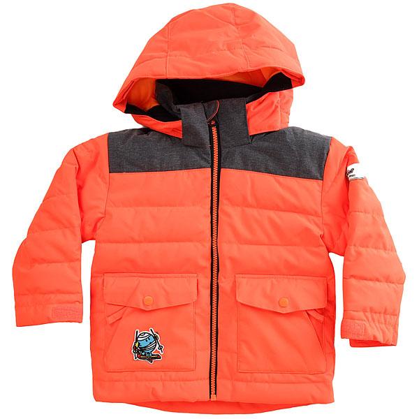 Куртка утепленная детская Quiksilver Mr Men Jk Shocking Orange