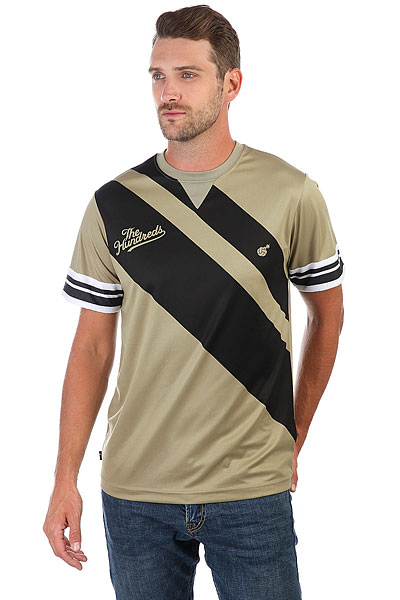 Футболка The Hundreds Spike Volleyball Jersey Dusty Olive футболка denim футболка