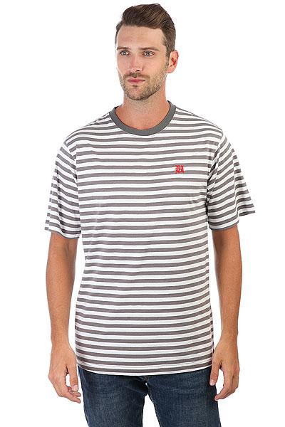 Футболка The Hundreds Marina T-shirt Charcoal<br><br>Цвет: белый,серый<br>Тип: Футболка<br>Возраст: Взрослый<br>Пол: Мужской
