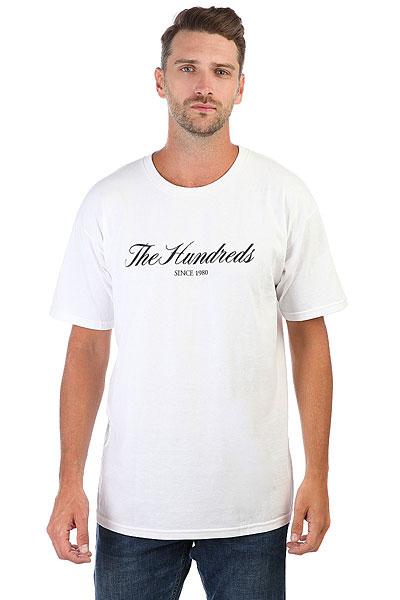 Футболка The Hundreds Rich 80 T-shirt White<br><br>Цвет: белый<br>Тип: Футболка<br>Возраст: Взрослый<br>Пол: Мужской